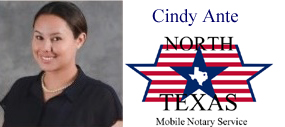 Signing Agent Dallas - Cindy Agent